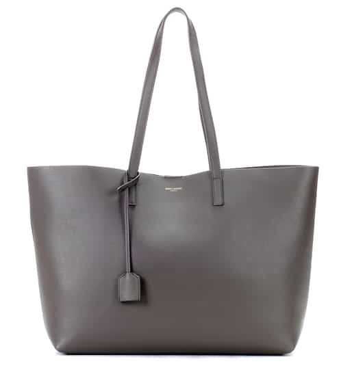 Saint Laurent Shopper aus Leder