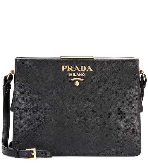 Saffiano leather shoulder bag | Prada