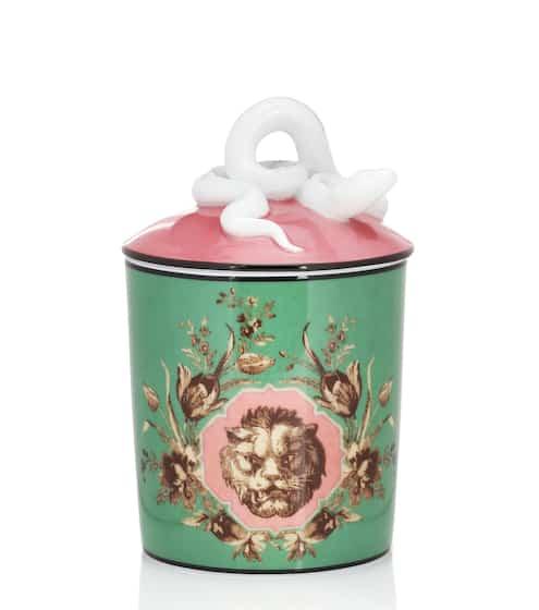 구찌 향초 캔들 Gucci Herbosum Grotesque Garden candle