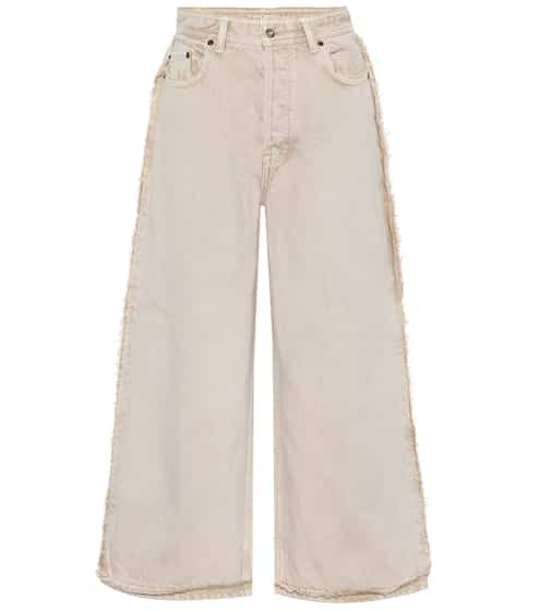 아크네 스튜디오 Acne Studios High-rise wide-leg jeans
