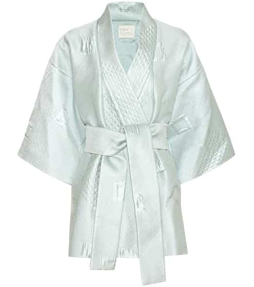 Hillier Bartley Kimonojacke aus Wolle und Seide