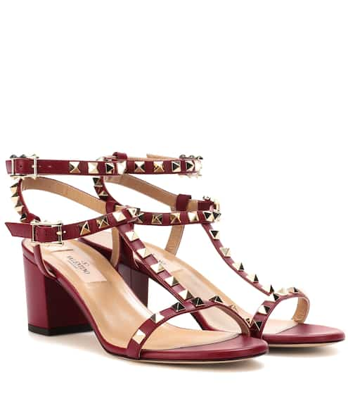 Valentino Valentino Garavani Rockstud leather sandals Recommended for you!