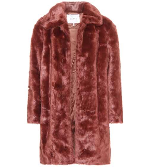 Frame Mantel aus Faux Fur