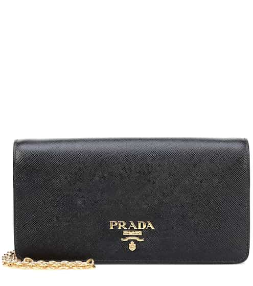 Saffiano Leather Crossbody Bag Prada