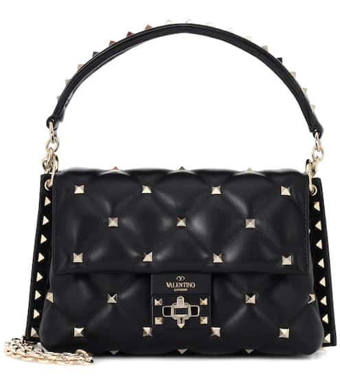 84b034625870 Valentino Garavani Candystud leather shoulder bag | Valentino