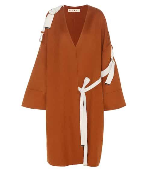 Marni Mantel aus einem Woll-Angora-Cashmere-Gemisch