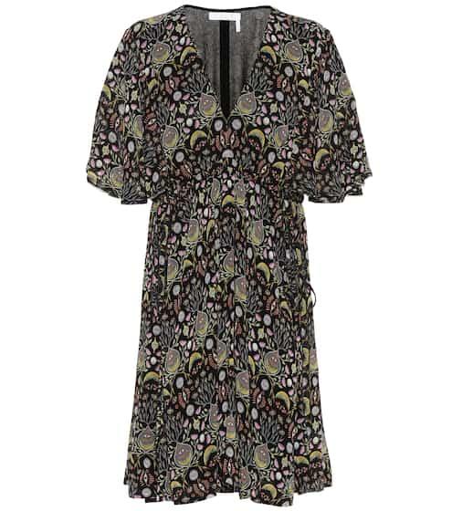 Printed crêpe dress by Chloé, available on mytheresa.com for EUR969 Kylie Jenner Dress SIMILAR PRODUCT