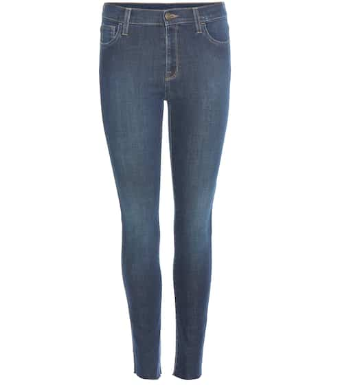 Gucci Bestickte Skinny Jeans