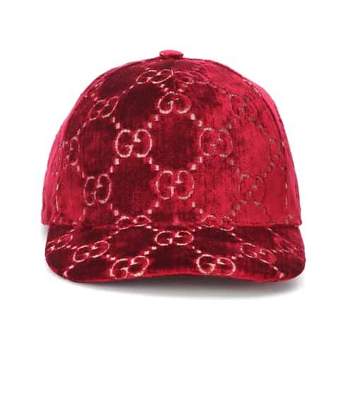 구찌 Gucci GG velvet cap