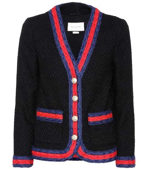 Gucci Tweed-Jacke