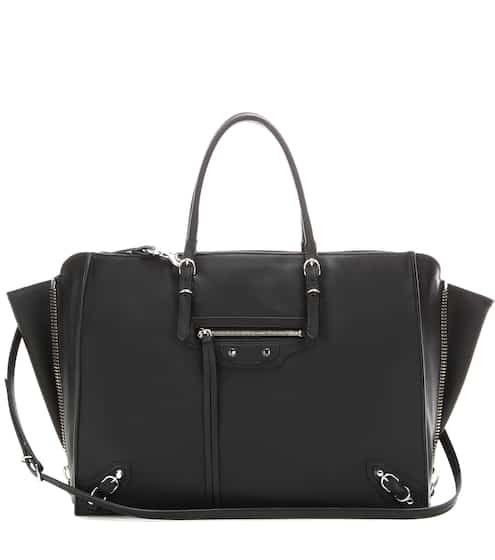 Balenciaga Ledertasche Papier B4 Zip-Around