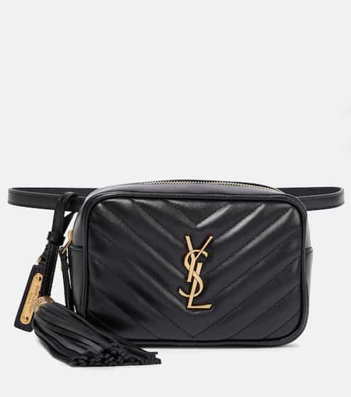 생 로랑 루백 벨트백 - 블랙 Saint Laurent Lou leather belt bag