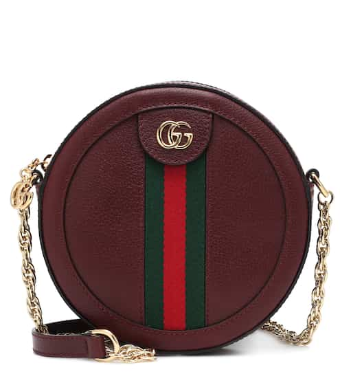 4ec581f226 Ophidia Mini Round leather shoulder bag | Gucci
