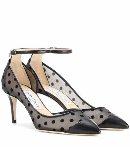 Jimmy Choo Pumps Lucy 65 mit Polka-Dots