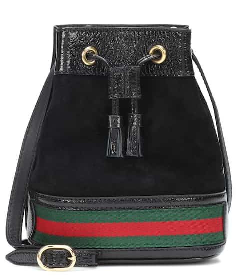 78855f167 Gucci Ophidia Leather Bucket Bag from mytheresa - Styhunt