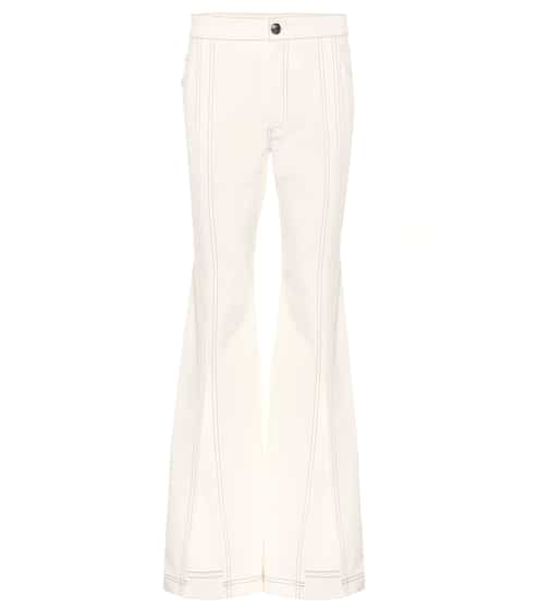 끌로에 Chloe High-rise flared jeans