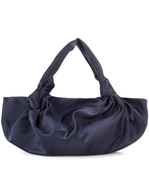 The Row Schultertasche Ascot Small aus Seide