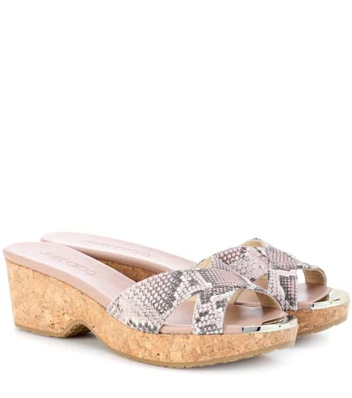 dd108f8c6cc Jimmy Choo Panna 50 Leather Sandals