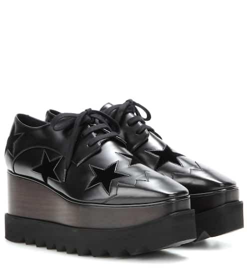 Étoiles D'argent Stella Mccartney Chaussures Elyse - Noir MJvouupdrZ