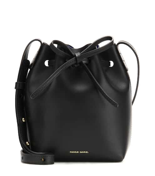 Mansur Gavriel Bucket-Bag Mini Mini aus Leder