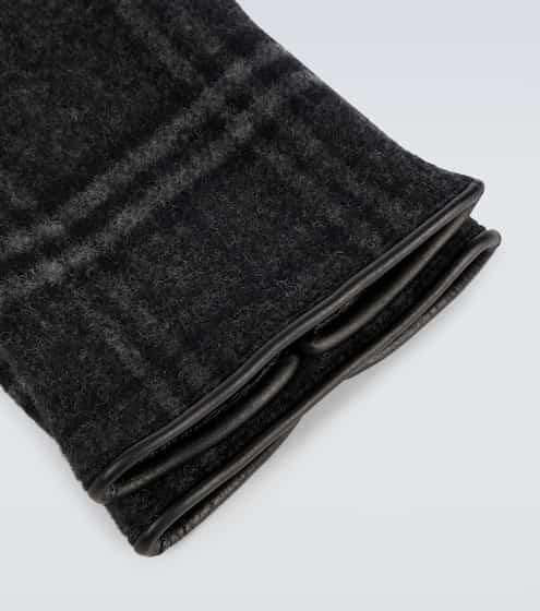 버버리 울 캐시미어 장갑 Burberry Cashmere and wool blend gloves