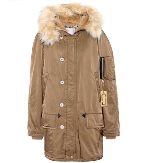 Marc Jacobs Parka mit Faux Fur