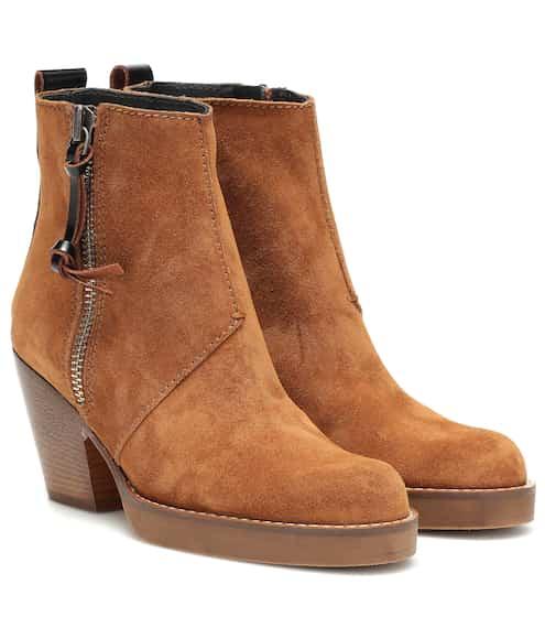 아크네 스튜디오 Acne Studios Suede ankle boots
