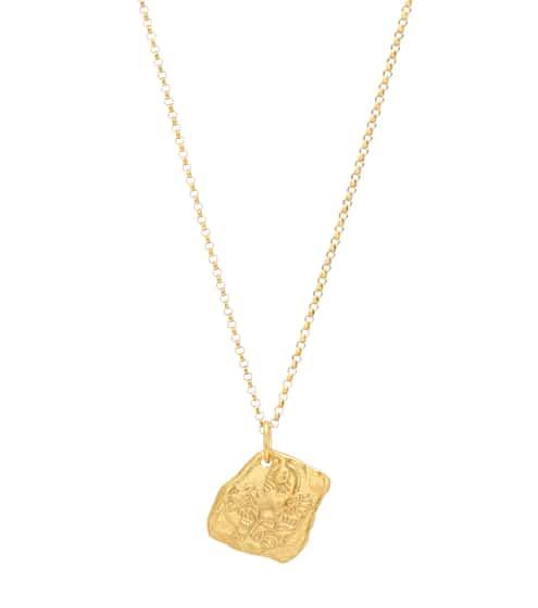 알리기에리 목걸이 (24K 도금, 핸드메이드, 메이드 인 잉글랜드) Alighieri Collier Year of the Tiger 24kt gold-plated necklace
