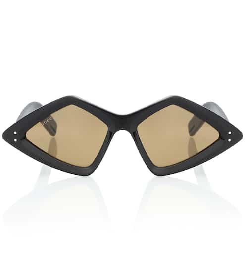875b139ef797 Diamond-frame acetate sunglasses