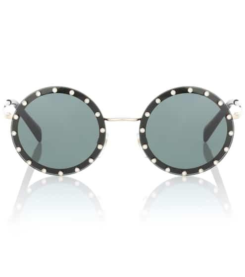 Valentino Runde Sonnenbrille