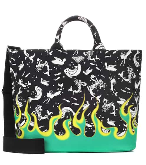 455fc562b8a3 Exclusive to Mytheresa – printed canvas tote