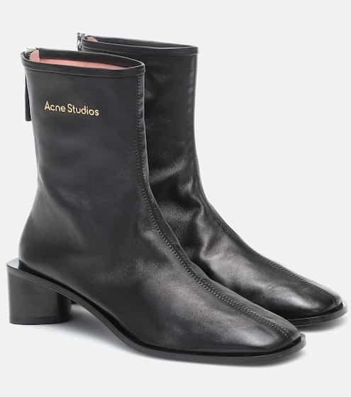 아크네 스튜디오 Acne Studios Leather ankle boots