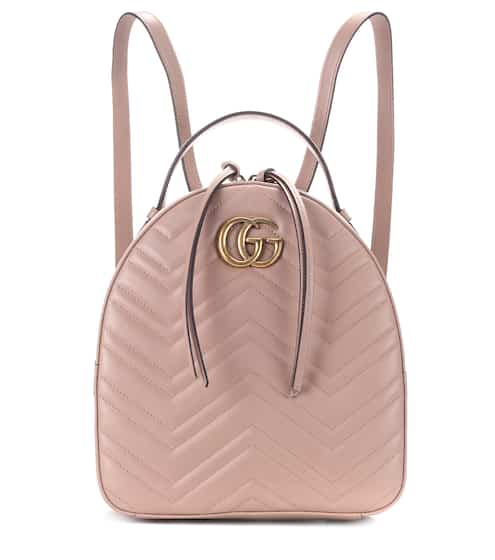 5a4aef9e88de Gucci Gg Marmont Matelasse Leather Backpack from mytheresa - Styhunt