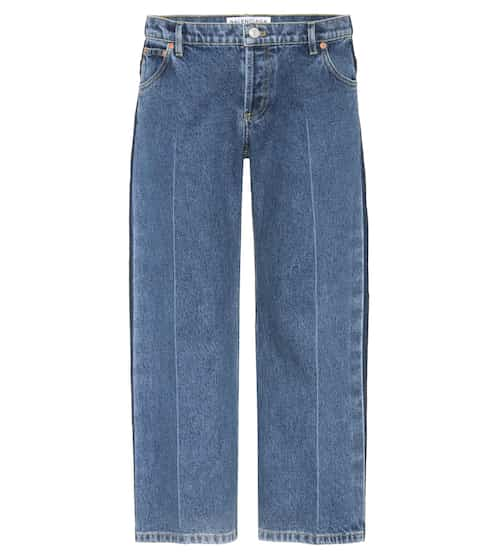 Balenciaga Cropped Jeans Rockabilly