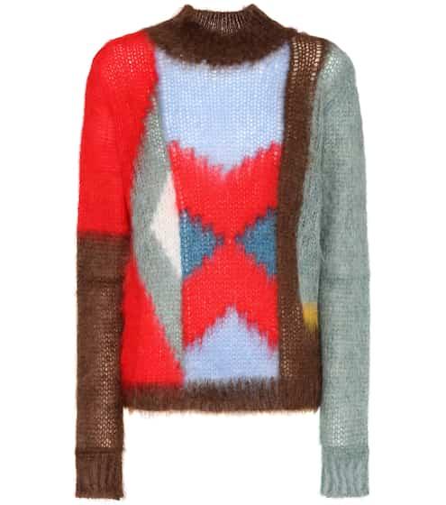 Chloé Pullover aus einem Mohair-Wollgemisch