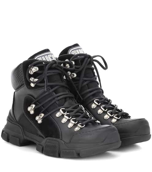 6b847083f16e Leather high-top sneakers