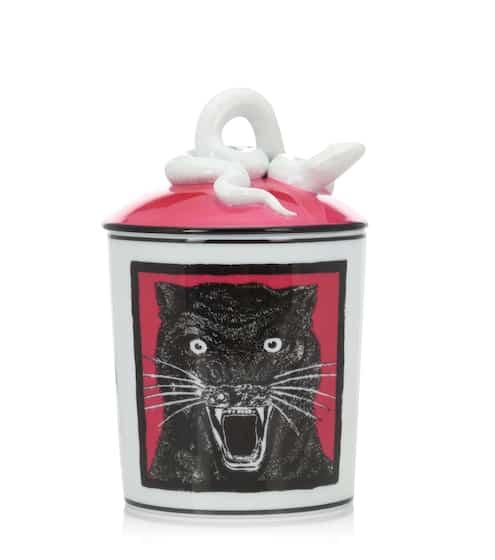 구찌 블랙팬더 향초 캔들 Gucci Esotericum Panther scented candle
