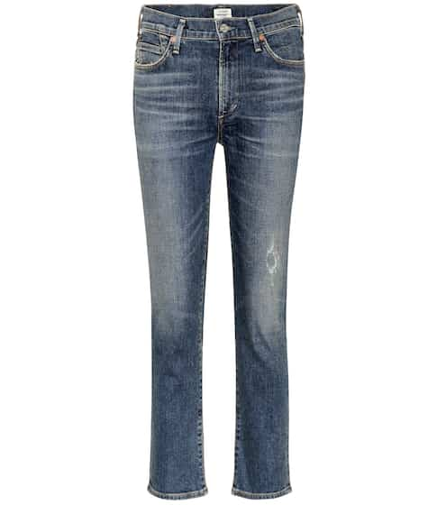 Citizens of Humanity High-Rise Cropped Jeans Cara