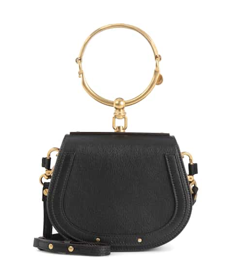 Small Nile Leather Bracelet Bag Chloé