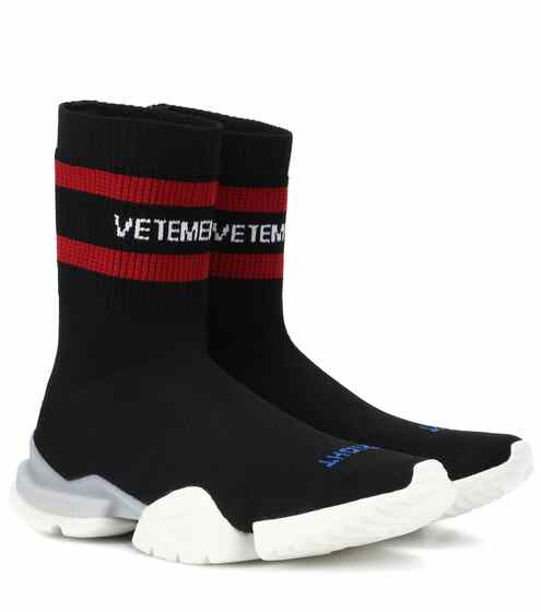 a6b3fbf61e0 Vetements X Reebok Stretch-Knit Sneakers from mytheresa - Styhunt