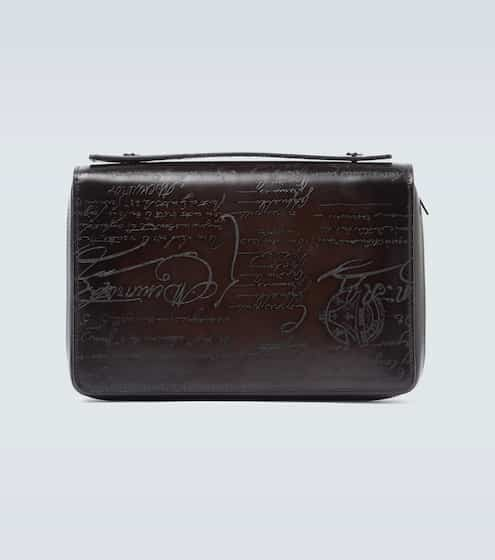 21SS 벨루티 와이드 스크리토 장지갑 Berluti Itauba Wide Scritto leather wallet