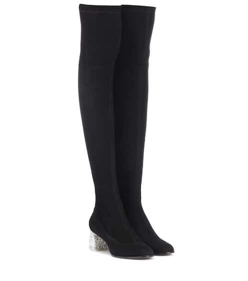 f81a9379d1e Sophia Webster Suranne Suede Over-The-Knee Boots from mytheresa ...