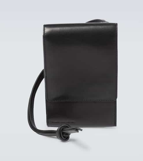 드리스 반 노튼 폰백 Dries Van Noten Leather phone case