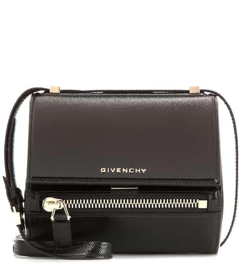 ad3b5dd5e418 Givenchy Pandora Box Mini Patent Leather Shoulder Bag from mytheresa ...