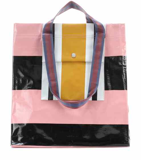 Acne Studios Shopper Face aus Papier