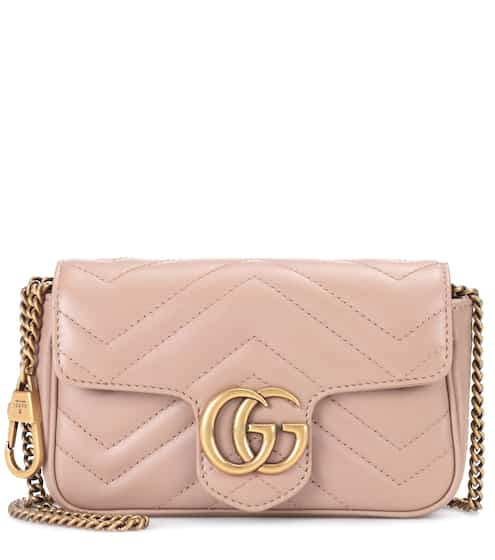 06d9e960ad64 Gucci Gg Marmont Mini Leather Shoulder Bag from mytheresa - Styhunt
