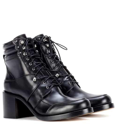 Tabitha Simmons Ankle Boots Leo aus Leder