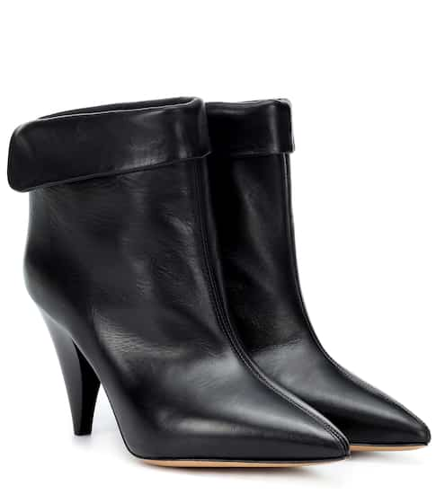 이자벨 마랑 Isabel Marant Lisbo leather ankle boots
