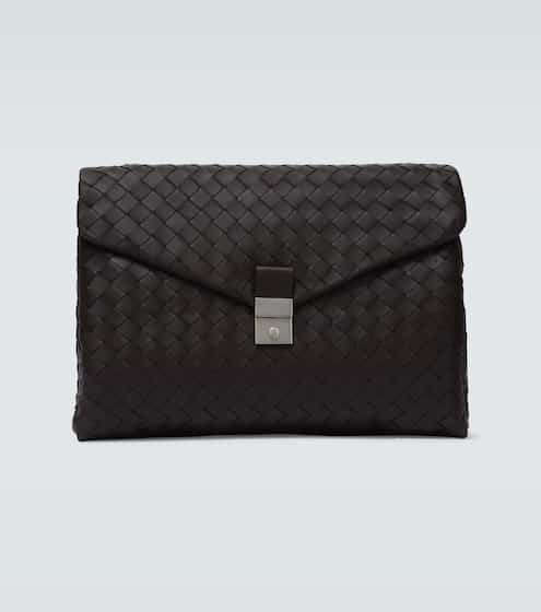 보테가 베네타 Bottega Veneta Icon Intrecciato document case