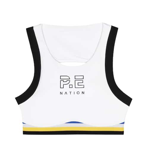 P.E Nation Big Papy crop top